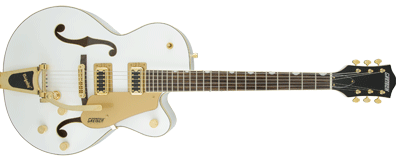 Gretsch G5420TG Electromatic Hollow Body Bigsby Snow Crest White