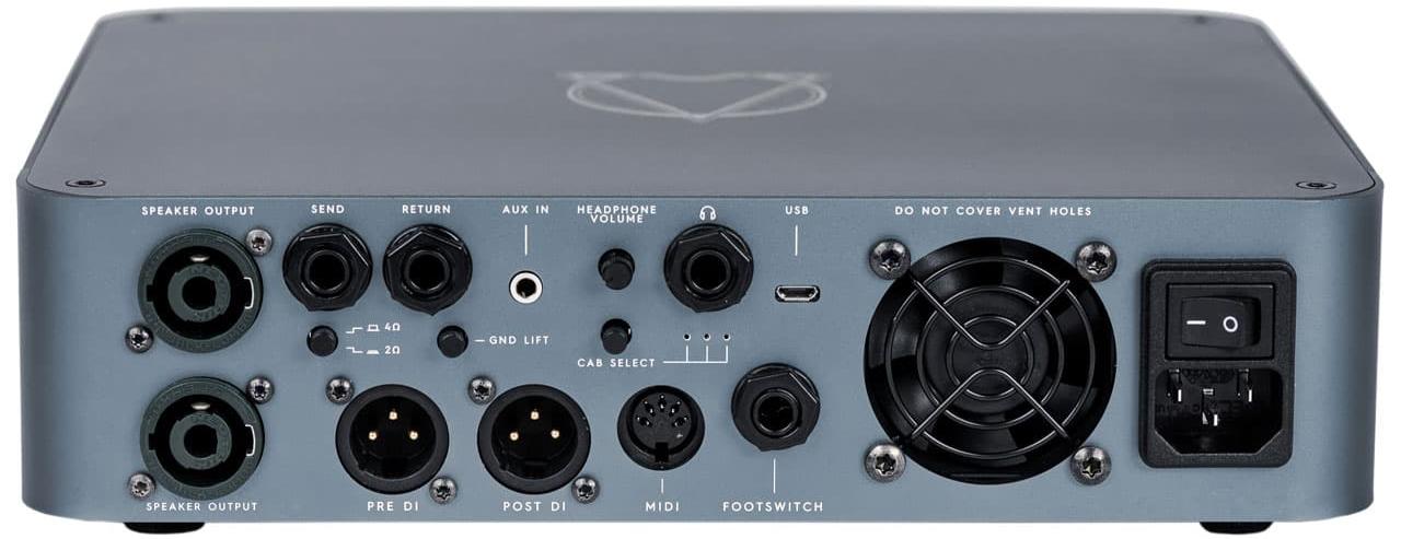 DARKGLASS ELECTRONICS Alpha ∙ Omega 900 Back