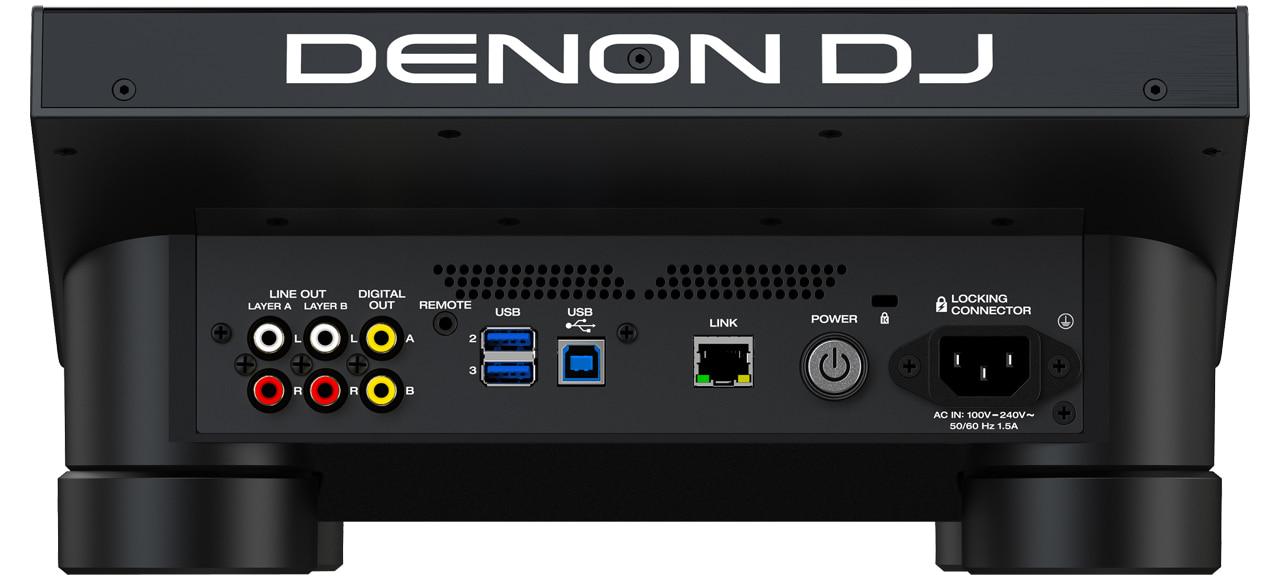 Denon DJ - SC6000 PRIME / Rückseite & Anschlüsse