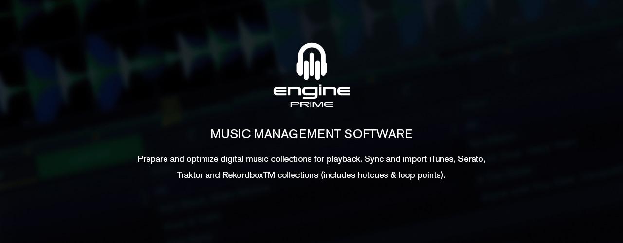 Denon DJ - SC6000 PRIME / ENGINE PRIME Librarian Software