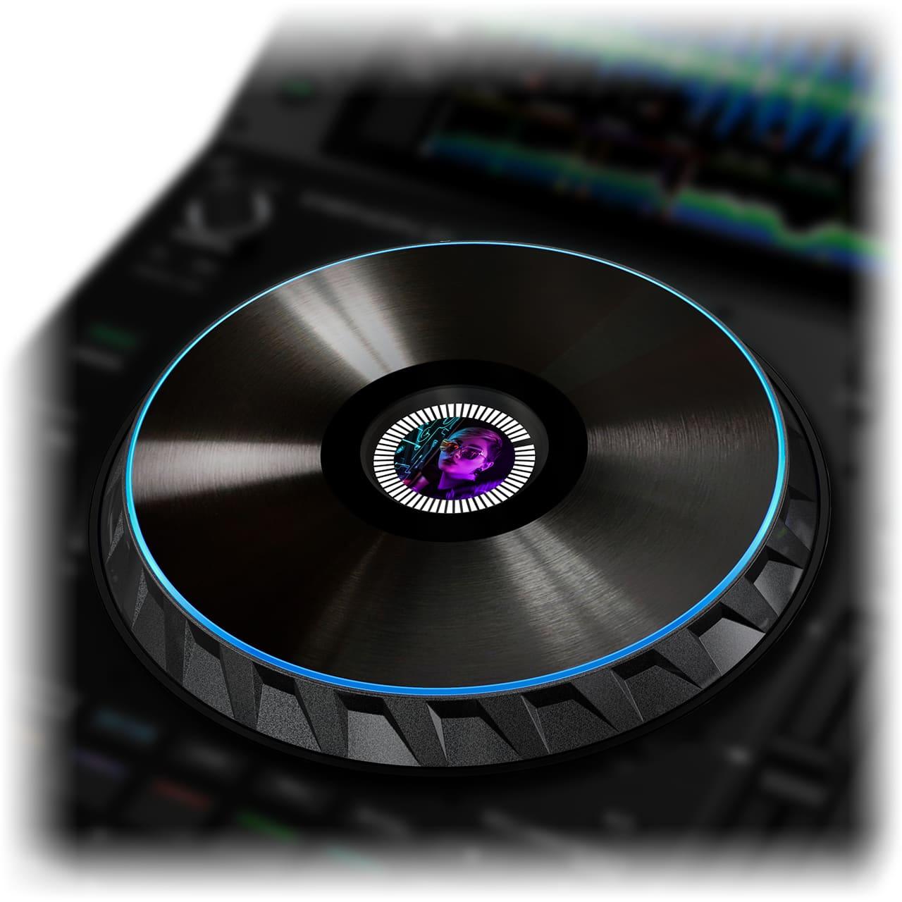 Denon DJ - SC6000 PRIME / Großes 8.5-Zoll Jogwheel