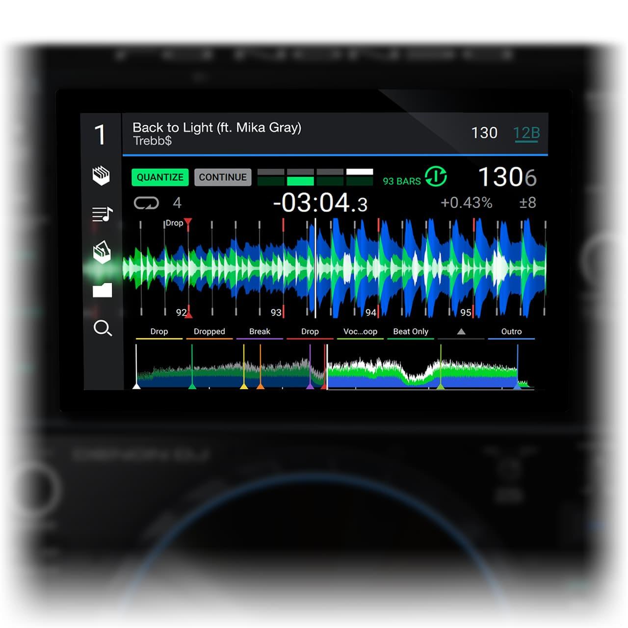 Denon DJ - SC6000 PRIME / HD 10.1-Zoll Touchscreen