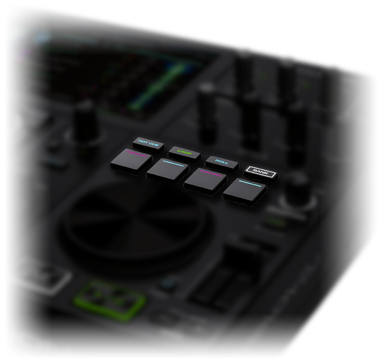 Denon DJ - Prime GO / Dual-Bank Performance Pads