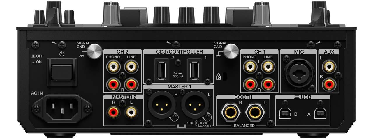 Pioneer DJ - DJM-S11 / Backview