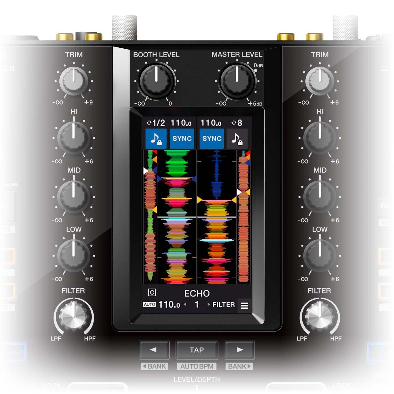 Pioneer DJ - DJM-S11 / 4,3-Zoll-Touchscreen