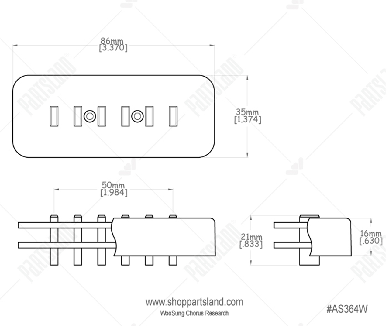 [SCHEMATICS_4HG]  Roswell Pickups P90 Staple Ivory | MUSIC STORE professional | en-OE | Roswell Wiring Diagram |  | MUSIC STORE