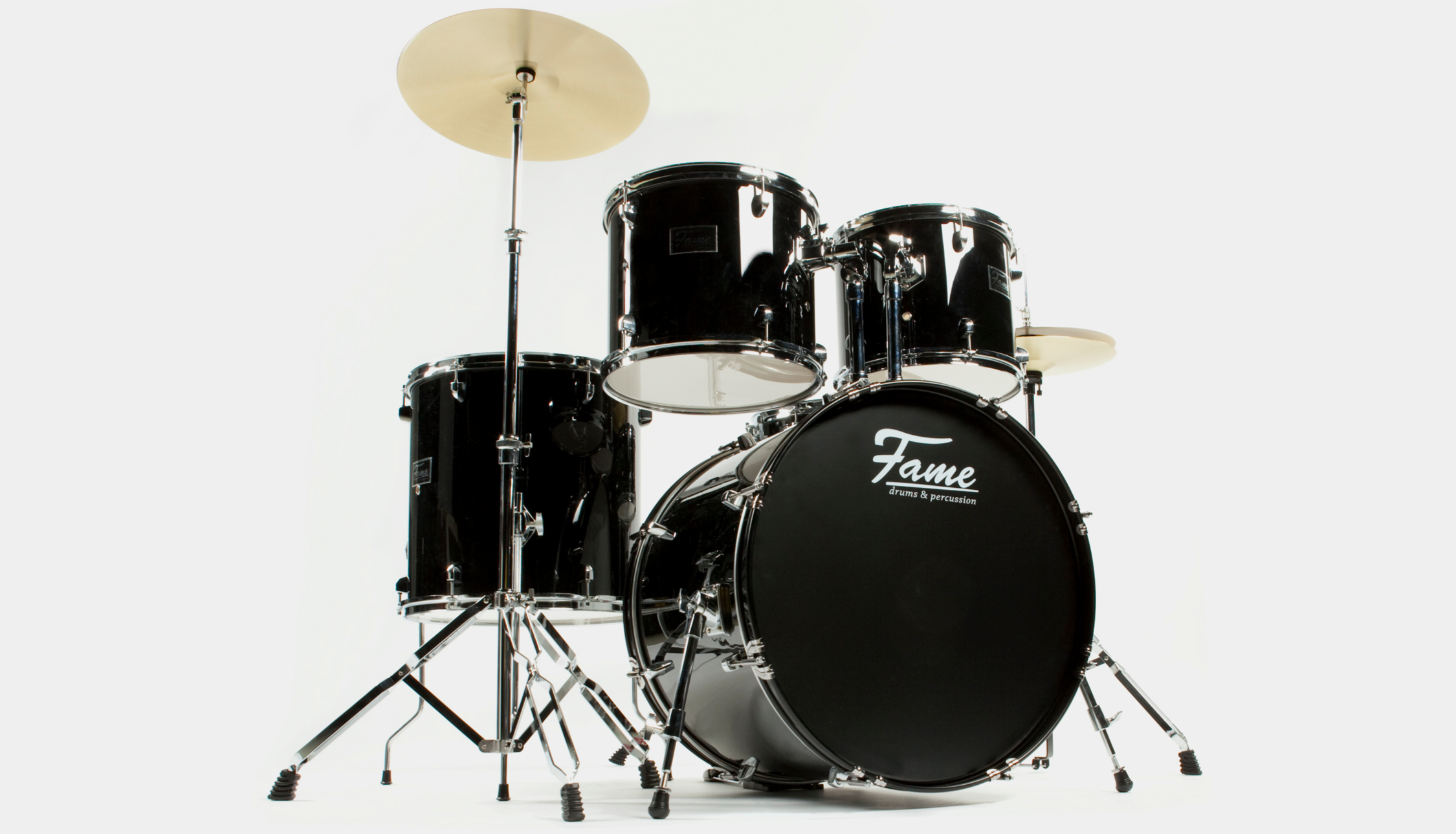 "Fame Spark BassDrum 20/""x16/"" Black"